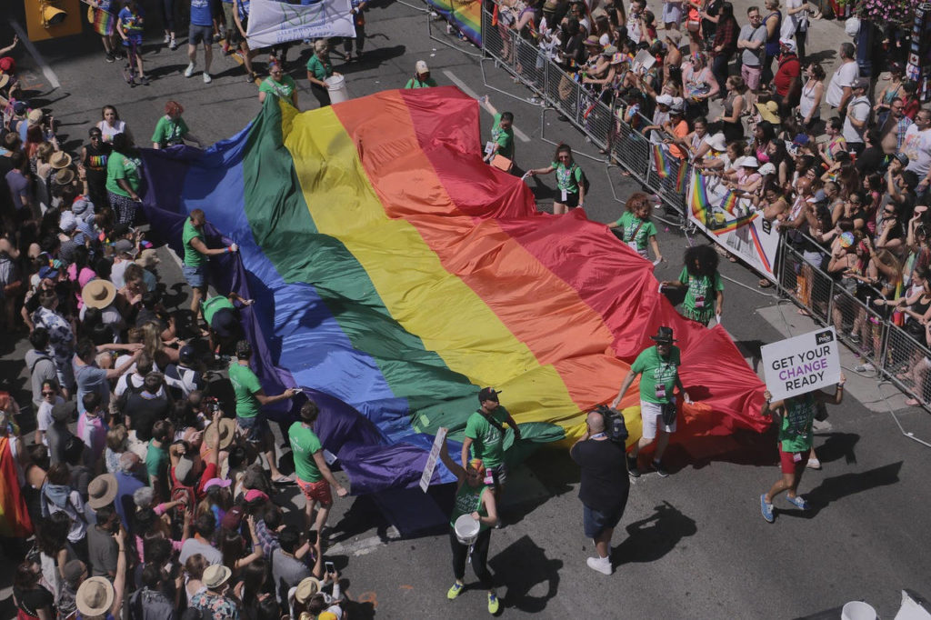 Gay Pride 2018 à Paris